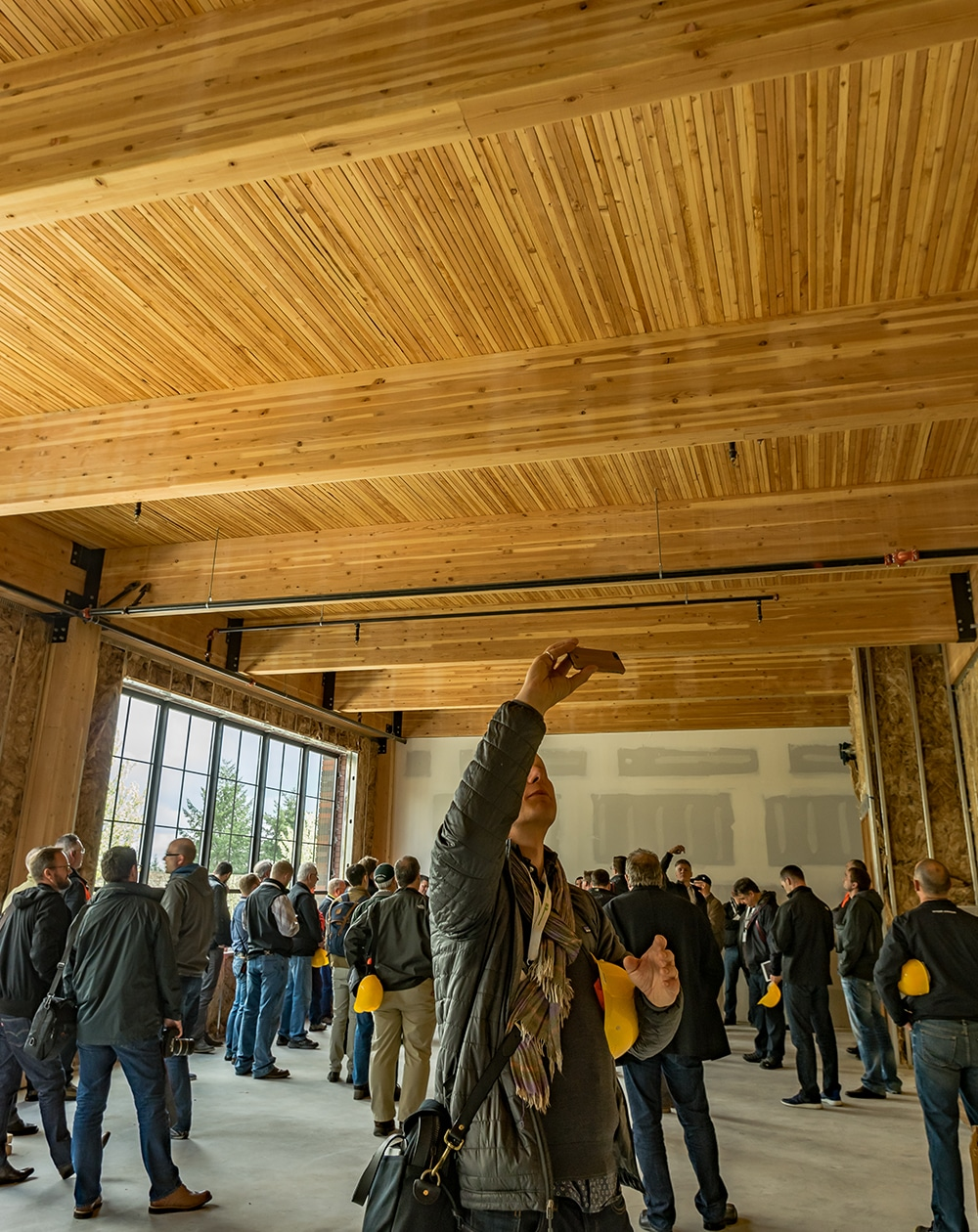 Cross laminated timber and other mass timber at the International Mass Timber Conference